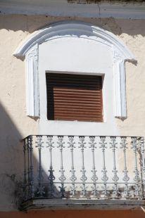 Balcón tapado