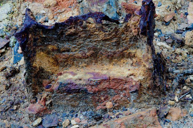 Texturas minerales Riotinto