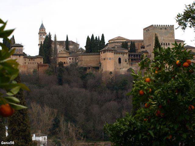 La Alhambra desde la Casa del Chapiz