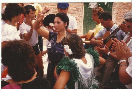 Virginia Ramos Vargas. Escóznar. Feria de La Linea