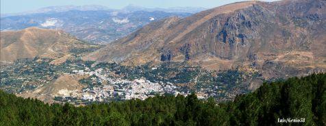 Panoramica desde la carretera de la Sierra