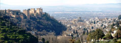 Panoramica desde la Abadia del Sacromonte