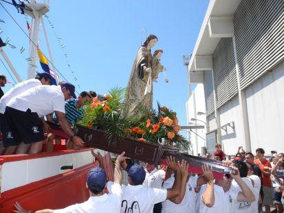 Fiestas de la Virgen del Carmen en Carboneras