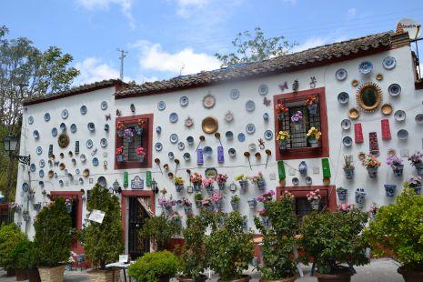 Casa adornada del Sacromonte