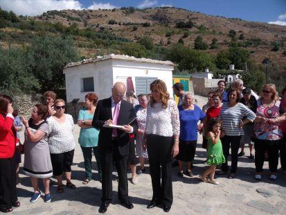 Soportúja, visita de la Presidenta de la Junta de Andalucía