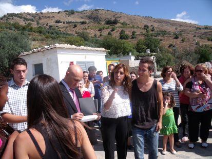 Soportújar, visita de la presidenta de la junta de andalucia