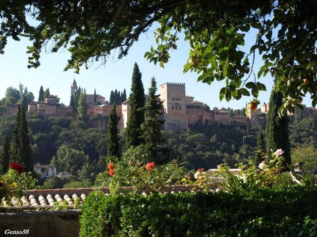 La Alhambra dersde la Casa del Chapiz
