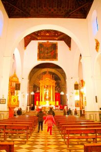 Interior de San Pedro