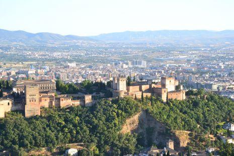 La alhambra desde el saqcromonte