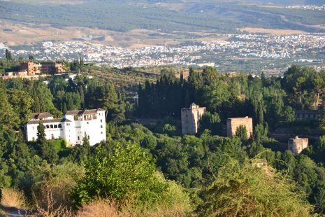 generalife y torres de la alhambra