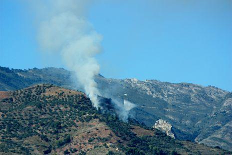 Incendio en el Cerval Alto, La Herradura