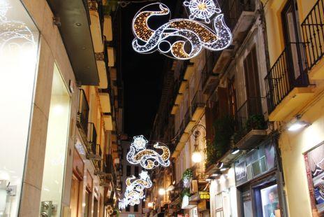Calle Mesones navideña