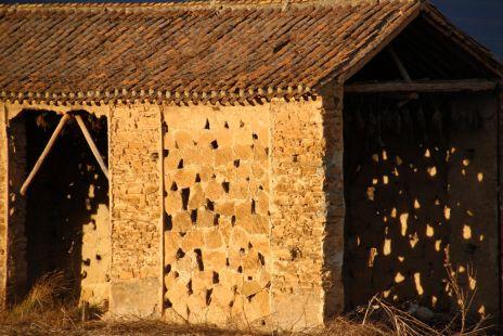 Secadero de piedra