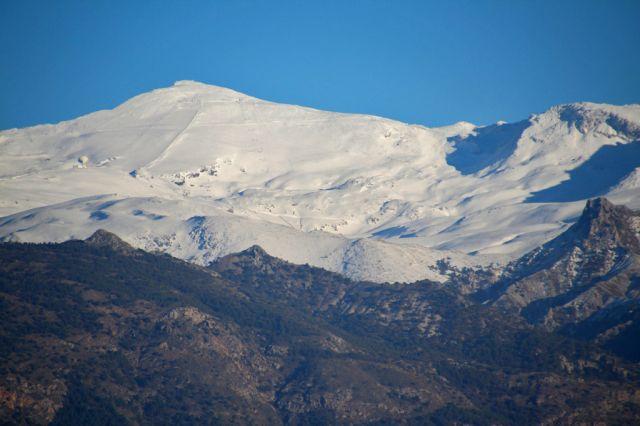 Sierra Nevada desde Gabia