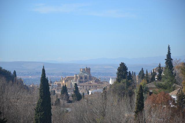 La Catedral desde el camino del Sacromonte