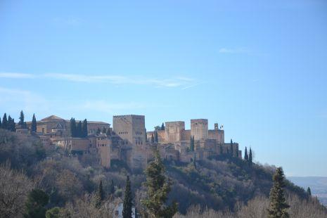 La Alhambra desde el camino del Sacromonte