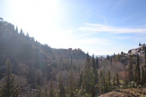 Vista desde el Sacromonte