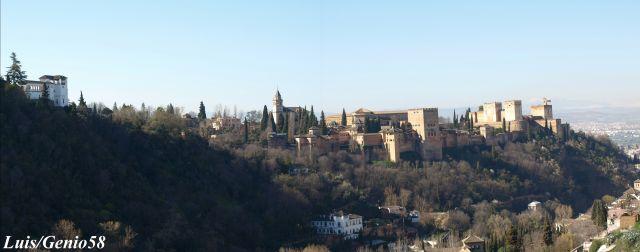 Panoramica desde el Sacromonte