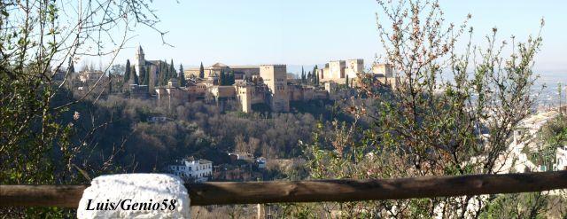 La Alhambra desde el Sacromonte
