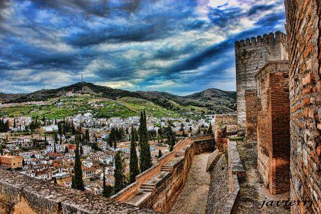 vista de Granada desde la alcazaba 1