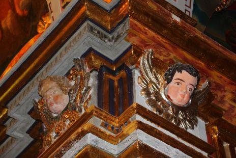 Detalles de la ermita de Gabia