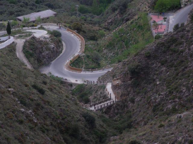 Soportújar, Puente Encantado en el Barranco de la Cueva, 030514, 2