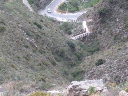 Soportújar, Puente Encantado en el Barranco de la Cueva, 030514,1