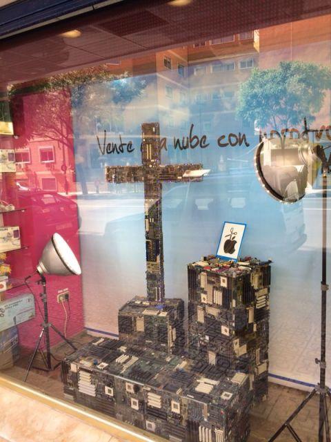 Cruz de mayo escaparates 2014 Granada