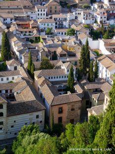 Museo #ArqueologicoYA desde la Torre de las Armas, Alhambra