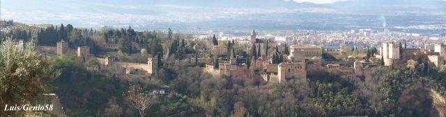 Panorámica de la Alhambra