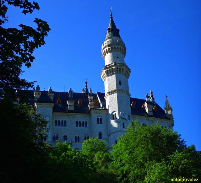 Castillo de Neuschwanstein-Baviera