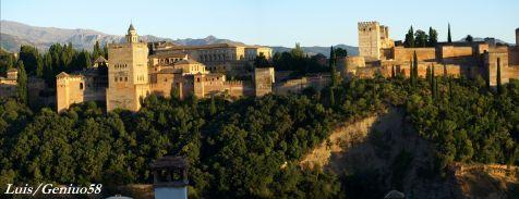 Atardeciendo en la Alhambra