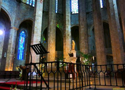 Basílica Santa María del Mar-Barcelona