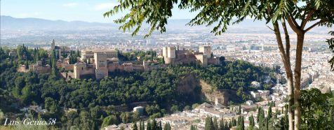 Panoramica de la Alhambra desde San Miguel Alto