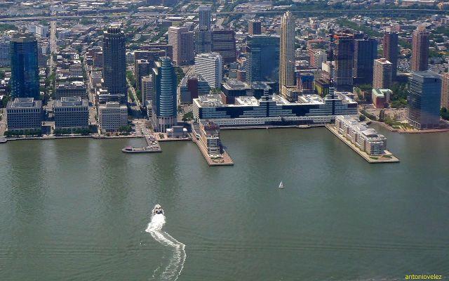 Nueva Jersey desde el World Trade Center